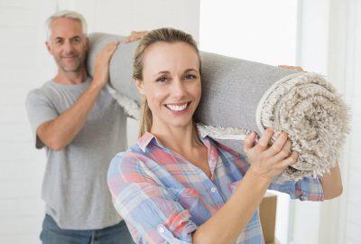 如何將地毯搬到新家