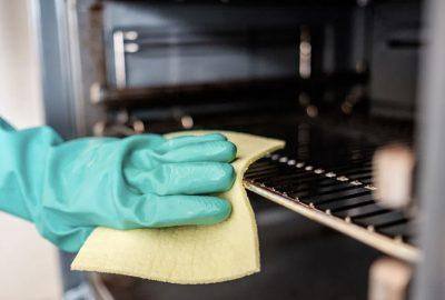 如何深層清潔烤箱