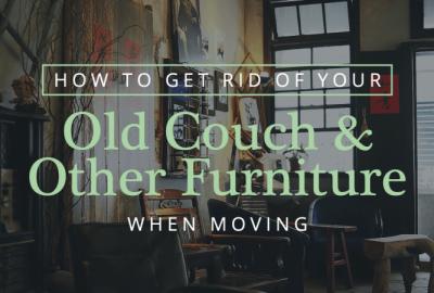 移動時如何擺脫舊沙發和其他家具