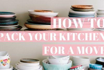 如何收拾廚房搬家