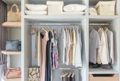 如何整理掛衣服